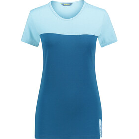 Meru Perama Jersey T-shirt Dames, petit four/saphire